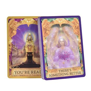 44 Angels, Oracles, Cards, Tarot Cards, Board Game Cards Vivid Imagery Full English Version Upgraded And Convenient Family Party