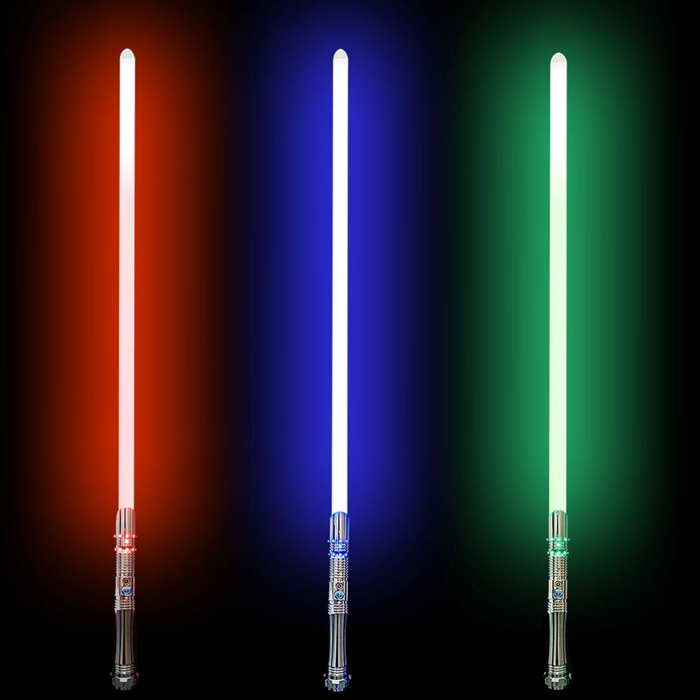 RGB Lightsaber LED Laser Sword In Star Wars Good Gift For Christmas 6 Sound Font Plus Mute Function And Infinite Color Changing