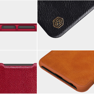 Image 5 - For Xiaomi Redmi Note 9 /9 Pro Flip Case NILLKIN QIN Series Flip Leather Cover For Redmi Note 9 Pro max with wake/Sleep Function