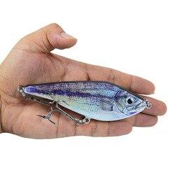 12cm 52g Artificial Bait VIB Fishing Lure Wobbler for Pike Buster Jerkbait Hard Bait Slow Sinking Lures Musky Slider Jerk Bait