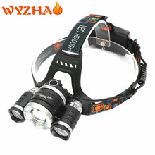 Zoom LED Headlamp working lamp rest camping lamp Headlight maintenance lamp Head light fishing lamp flashlight led Head lamp