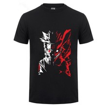 Men Sennin Modo Naruto T Shirt Fashion Short Sleeve O Neck Tops Tees Men Summer Comfortable All Cotton T Shirt(China)