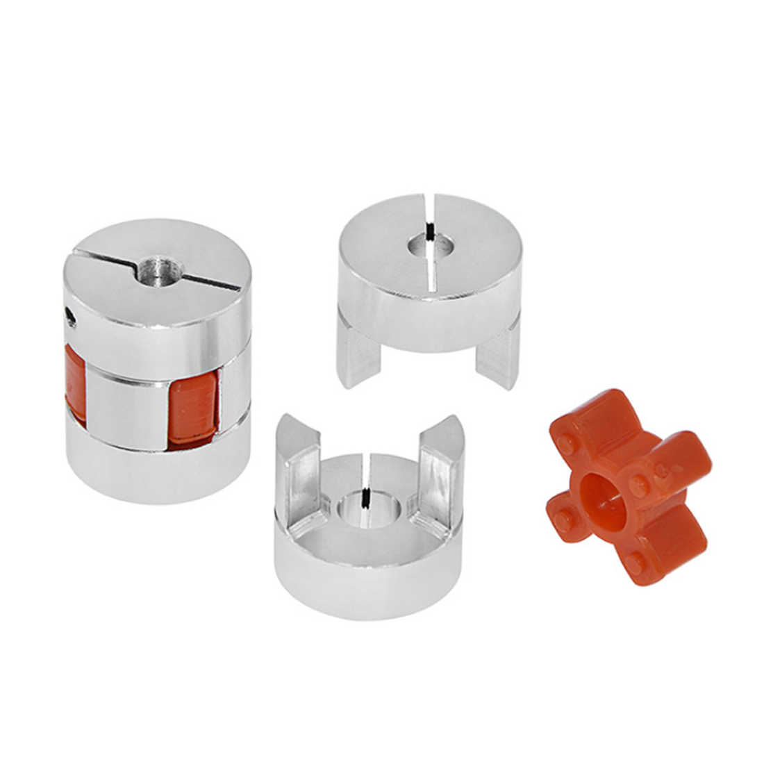 3D Printer Upgrade Leadtime Coupler untuk CR10/CR10S/Ender 2/Ender3/Tornado/Anet A8 Fleksibel poros Skrup