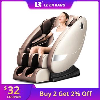 LEK L8 home Zero gravity fotel do masażu podgrzewany elektrycznie recline masaż całego ciała fotel do masażu s inteligentna sofa masująca shiatsu tanie i dobre opinie Le Er Kang LEK-L8 Multi-point massage Built - in arm airbag Roller massage Airbag buttock massage Kneading shiatsu tuina Air compression heating