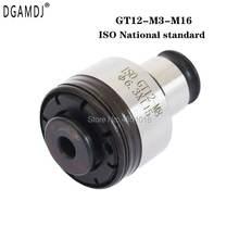 Iso стандарт gt12 m3 m16 резьбовой цанговый пневматический электрические