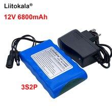 Liitokala 18650 12v 6800mah литиевая батарея перезаряжаемые