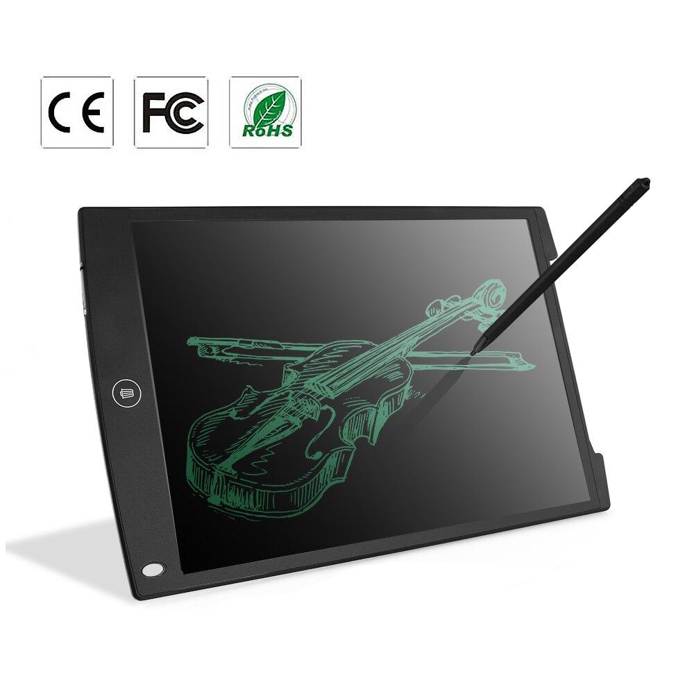 Polegada LCD Escrita Tablet Howshow 12 Grafic Almofadas de Escrita de Desenho Digital Portátil Eletrônico Placa Gráfica Placa com caneta