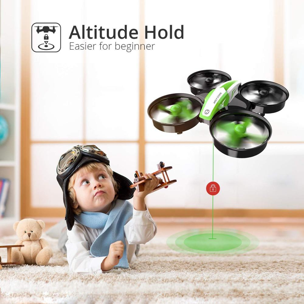 Holy Stone HS210 Mini Drone One Key Take off/Land Auto Hovering 3D Flip Mini Nano Drone RC Helicopter Quadrocopter For Kids 2