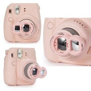 Image 3 - 1PCs Close up Lens With Selfie Mirror Classic Design for Fujifilm Instax FUJI Instant Mini 9 7s 8 8plus Instant Photo Camera