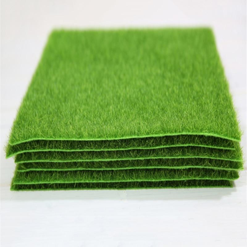 Yumai 30*30 Cm Green Artificial Plastic Grass Moss Faux Plant Carpet Greenery Turf Home Outdoor Garden Floor Decoration