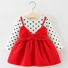 Baby Girl Clothes Long Sleeve Dress