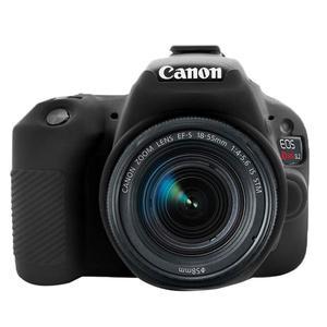 Image 5 - سيليكون الجلد DSLR حقيبة كاميرا الجسم حالة لكانون EOS R 6D 80D 800D 750D 4000D 5DSR 5D مارك الثالث الرابع 5D3 5D4 200D SL2 T100 T7i