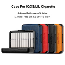 1 Portable Antidust Cigarette Box Ultra thin Gift smoking Cigarette Cases For IQOS For LIL Short Cigarette Holder Carrying Case