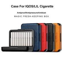 1 tragbare Antistaubgesichtsmaske Zigarette Box Ultra dünne Geschenk rauchen Zigarette Fällen Für IQOS Für LIL Kurze Zigarette Halter Durchführung fall