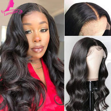 5x5 HD Lace Closure Wig Human Hair for Black Women Brazilian Body Wave Pre plucked 180 Density HD Lace Wig Melted Match All Skin