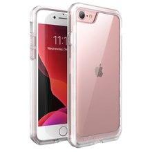Iphone se 2020 ケースiphone 7 8 ケースsupcase ubシリーズプレミアムハイブリッド保護tpuバンパー + クリアpcバックカバーケース