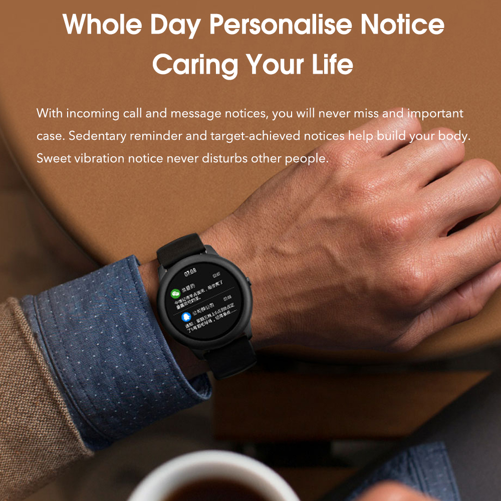 XiaoMi Haylou Solar Smart Watch IP68 Waterproof Sport Fitness Sleep Heart Rate Monitor Bluetooth LS05 SmartWatch For iOS Android 3