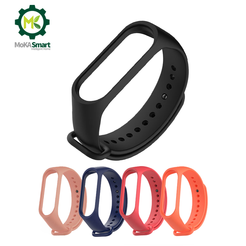 Sport Smart Bracelet Strap 3 4 Silicone Support Replacement Fashion Smart Wristband Accessories Watch Band M3 M4 Strap