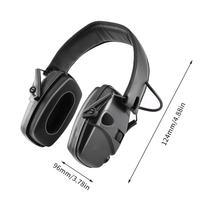 Тактическая Защита слуха защитные наушники с шумоподавлением