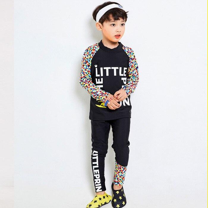 2017 New Style CHILDREN'S Swimwear Split Long Sleeve Trousers Full Body Jellyfish Clothing Cute Men And Women Children Swimwear