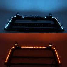 Radio Trim LED na deskę rozdzielczą konsola środkowa Panel AC jasnoniebieskie pomarańczowe nastrojowe oświetlenie do BMW 3 4 Series 3GT F30 M3 M4 LCI nowość