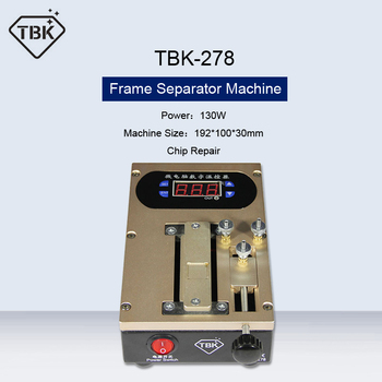 TBK LCD Screen Bezel Dismantle Frame Separator Machine Middle Frame Dismantle Separation CPU Chip Preheater Glue Removing Repair