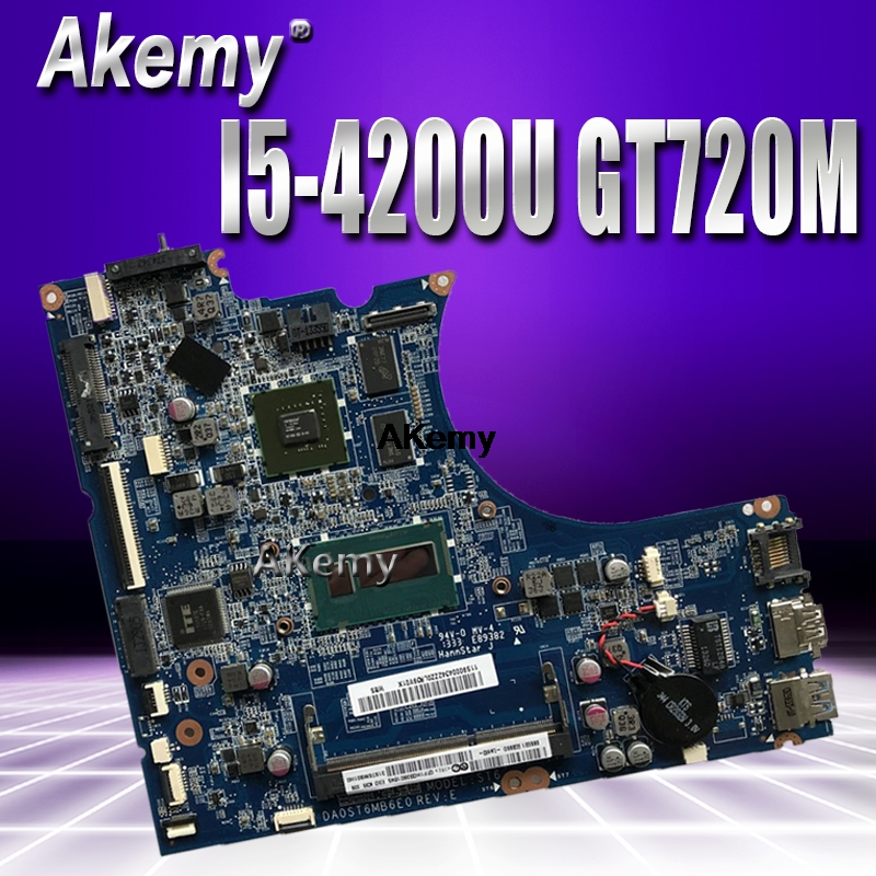 DA0ST6MB6F0 Laptop Motherboard For Lenovo Flex-14 Original Mainboard I5-4200U GT720M