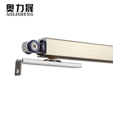 Hanging wheel wardrobe sliding door pulley sliding door track hanging wheel wheel kitchen hanging rail track