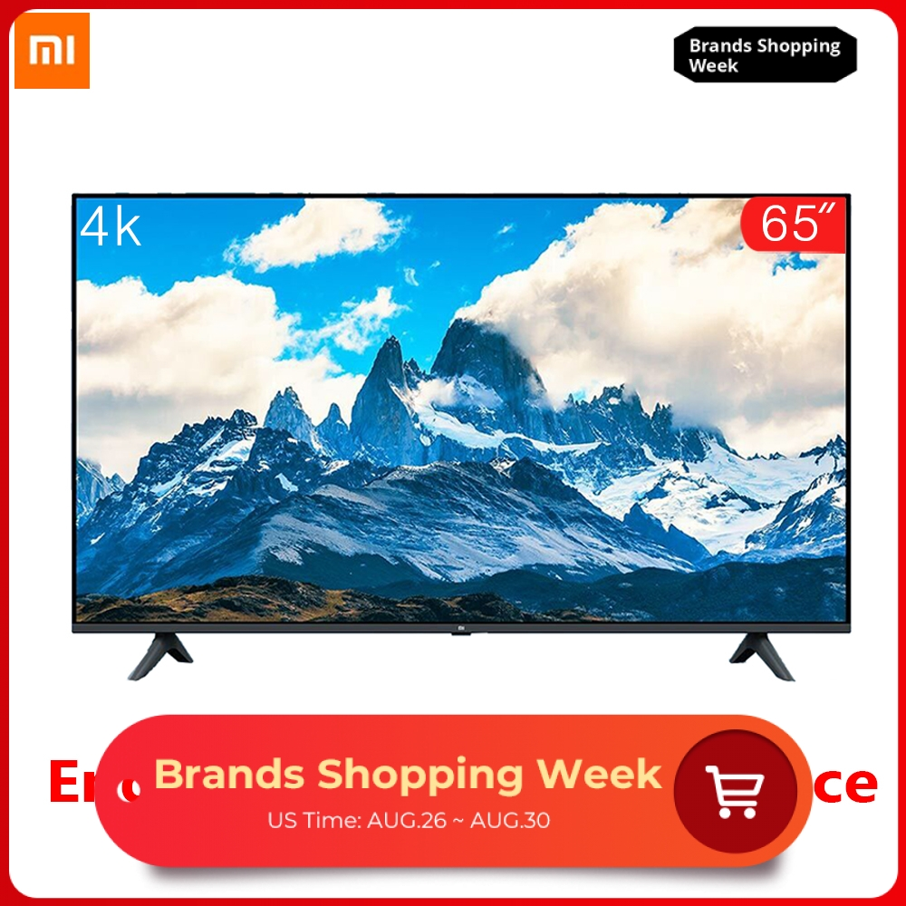 Xiaomi Tv-Set Dolby-Sound Full-Screen 65-Inches Borderless 4K 8GB 2GB E65A Voice-Control