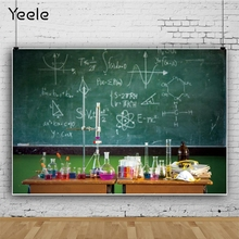 Yeele Back to School Blackboard Chemical Classroom Photography Backgrounds Photographic Customized Backdrops for Photo Studio