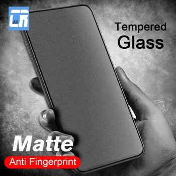 Перейти на Алиэкспресс и купить Матовое закаленное стекло против отпечатков пальцев для OPPO A3 A7X AX5S A9 A5 2020 Защитная пленка для экрана на Reno Ace Z 2z 2F Realme 5 X2 pro