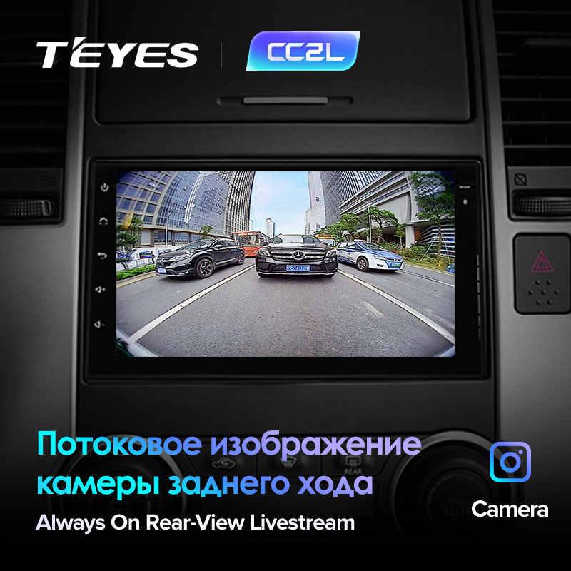 Teyes CC2L Multimedia Player Android 2 DIN Mobil DVD untuk Nissan Almera Qashqai Juke Toyota Volkswagen Mazda Kia VW Peugeot lada