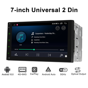 Image 2 - JOYING 2 din head unit car radio player GPS Navigation universal stereo multimedia 4GB+64GB support 4G/Carplay/Reverse camera BT