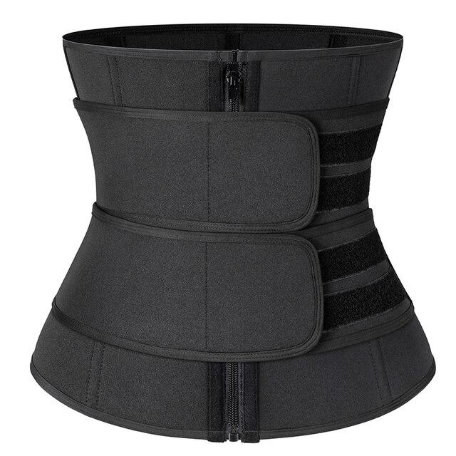 Neoprene Waist Trainer Slimming Girdles Women Body Shaper Waist Corset Sweat Sport Trimmer Belt Workout Support Boned Shapewear 5