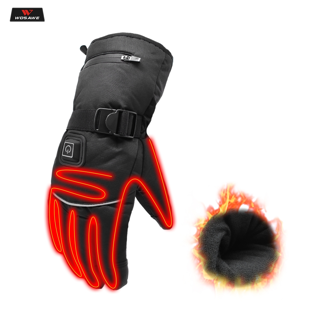 2 GUANTES MOTO Touch Screen Full Protective Motorcycle Racing Gloves Waterproof