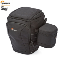 Lowepro Toploader Pro 70 AW II DSLR Camera Triangle Shoulder Bag Rain Cover Portable Waist Case Holster with 9*9cm lens bag
