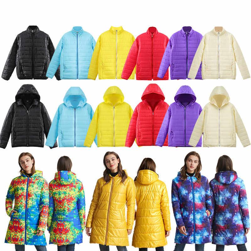 ผู้หญิงใหม่มาถึงฤดูหนาวเสื้อ 2019 ผู้หญิงอบอุ่นลงเสื้อยาวลง Parka หญิงแฟชั่นผู้หญิงแจ็คเก็ตลงเสื้อผ้า