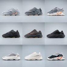 500 뜨거운 판매 Kanye 700 화이트 신발 동향 캐주얼 남자 신발 고품질 plataforma 신발 5 레이어 단독 zapatillas hombre