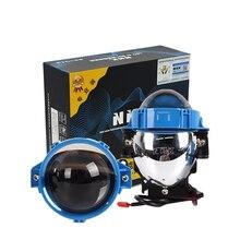 35 Вт 2,8 дюймов BI светодиодный объектив проектора для NHK автомобильных фар модифицированный Универсальный светодиодный головной фонарь дальнего и ближнего света светодиодный объектив автомобильные аксессуары