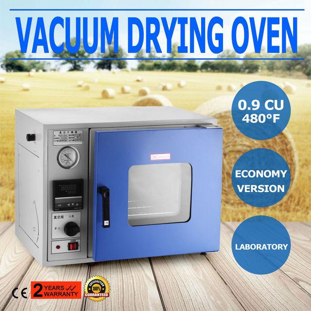 Horno de secado al vacío, horno de secado al vacío de 0,9 Cu Ft 250 °C, horno de secado al vacío de 450 vatios, horno de secado al vacío de laboratorio