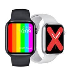2020 IWO W46 Smart Watch 44mm Wireless charging IP68 Waterproof Sports Smartwatch fitness tracker