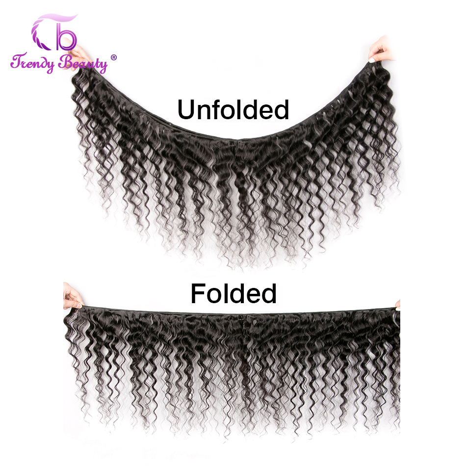 Deep Wave Can Buy 3/4 Pcs Machine Double Weft  s 8-30 Inches Natural Black Non- Trendy Beauty 2