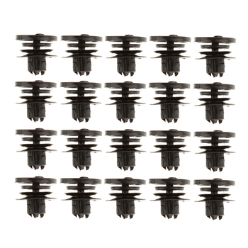 20x Door Panel Fastener Moulding Clips for Cars 98-on VW Passat 3B-086-8243 image