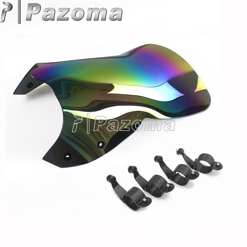 Motorcycle Black Windshield Thermoplastic Windscreen For Suzuki 06-16 Boulevard M109R Cruisers