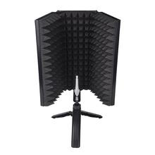 Складной микрофон, акустическая изоляция, акустическая пена, панель для студийной записи, аксессуары для живой реальности