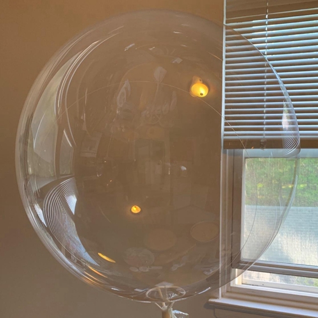 5pcs 18''20''24''36'' Trasparente Globes Chiaro Pallone Ad Elio Gonfiabile Bobo Palloncini Matrimonio Compleanno Baby Shower Decorazione 1