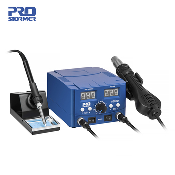 800W Soldering Station 2 in 1 Electric Hot Air Gun Led Display Electric Soldering Iron Work Station for Welding Repair Tools Kit 1
