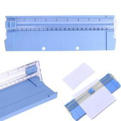 A4/A5 gilotyna do papieru trymer maszyna do cięcia Scrapbooking precyzyjna przycinarka do zdjęć przycinarka do papieru maszyna do cięcia blachy losowo w Trymery do papieru od Komputer i biuro na