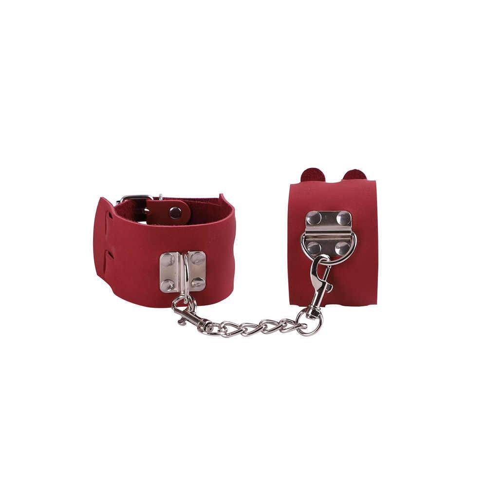 Hot Sex ของเล่น Handcuffs ตำรวจคอสเพลย์เครื่องมือของเล่นสำหรับชุด Handcuffs Nipple Clamps Gag Whip เชือกของเล่นสำหรับคู่รัก