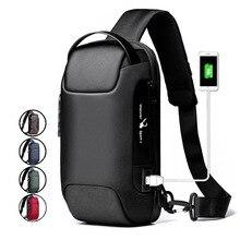 WEIXIER Summer New USB Anti theft Men Chest Bag Outdoor Casual Shoulder Crossbody Bag Men s Waterproof Messenger Travel Backpack